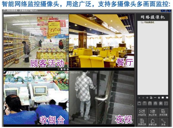 无线智能监控摄像头